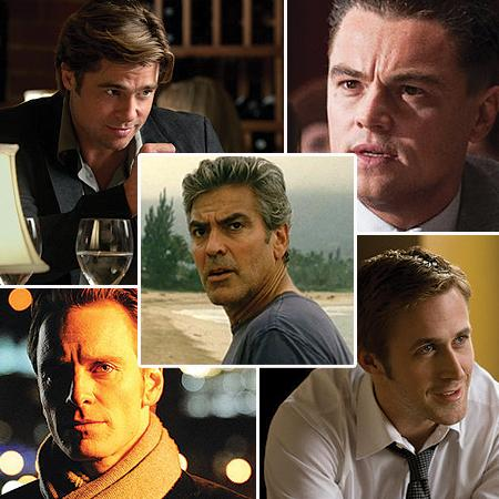 <p><b>BEST PERFORMANCE BY AN ACTOR IN A MOTION PICTURE - DRAMA</b> <br> <b>NOMINEES:</b> <br>George Clooney - The Descendants <br>Leonardo Dicaprio - J. Edgar <br>Michael Fassbender - Shame <br>Ryan Gosling - The Ides of March <br>Brad Pitt - Moneyball</p>