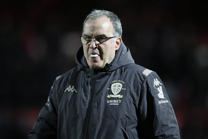 Marcelo Bielsa's Leeds are currently top of the Championship (Getty Images)