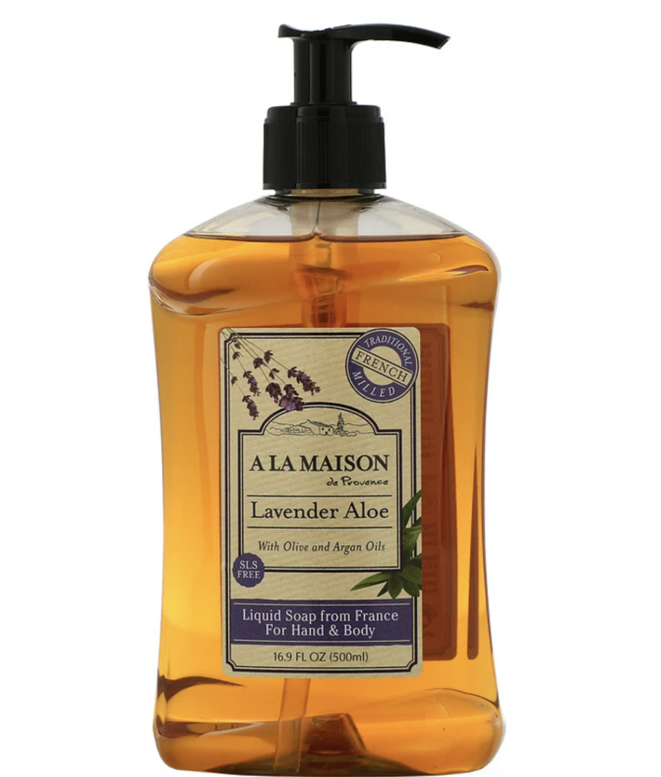 A La Maison de Provence, Hand & Body Liquid Soap, Lavender Aloe. PHOTO: iHerb