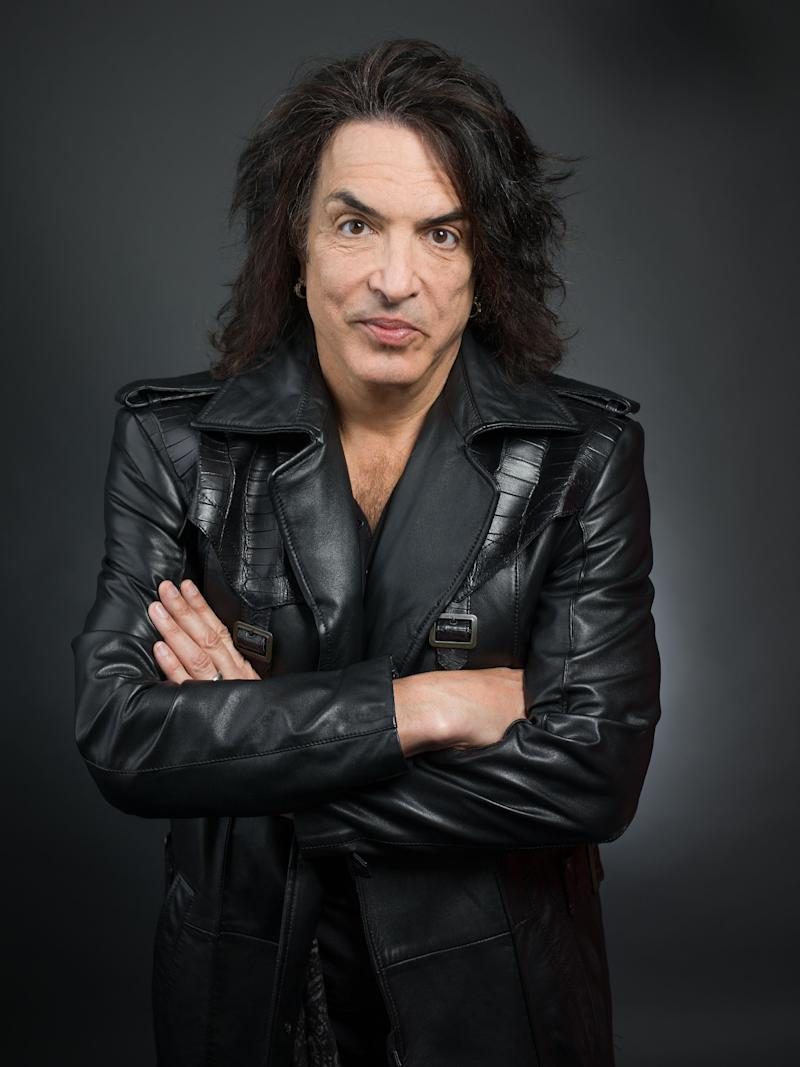 "FILE - This April 7, 2014 file photo shows guitarist and frontman of the band ""Kiss,"" Paul Stanley in New York. Stanley released a memoir, ""Face The Music: a Life Exposed,"" this month. (Photo by Scott Gries/Invision/AP, File)"