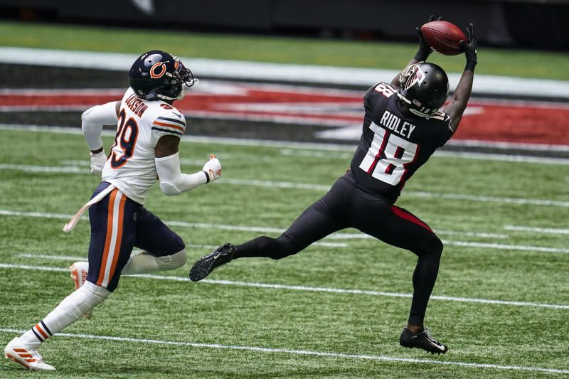 Atlanta Falcons wide receiver Calvin Ridley (18)