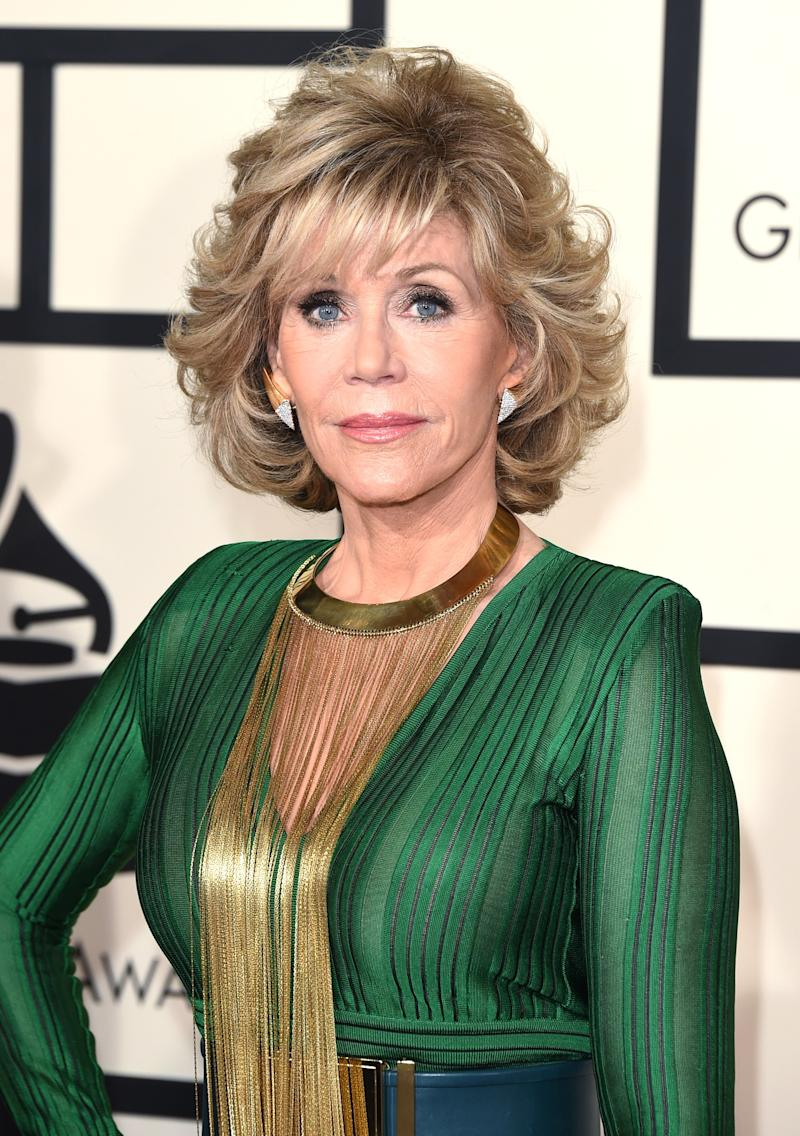 Jane Fonda Arrested in Washington During Climate Change Protest