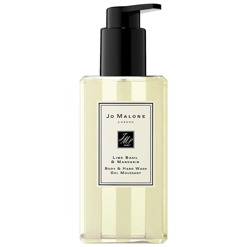 """<p>""""While there are plenty of less-expensive options to bathe in than the <a href=""""https://www.popsugar.com/buy/Jo-Malone-London-Lime-Basil-amp-Mandarin-Body-Wash-483425?p_name=Jo%20Malone%20London%20Lime%20Basil%20%26amp%3B%20Mandarin%20Body%20Wash&retailer=sephora.com&pid=483425&price=25&evar1=bella%3Aus&evar9=46529583&evar98=https%3A%2F%2Fwww.popsugar.com%2Fbeauty%2Fphoto-gallery%2F46529583%2Fimage%2F46531439%2FJo-Malone-Lime-Basil-Mandarin-Body-Hand-Wash&list1=beauty%20products%2Ceditors%20pick%2Cbeauty%20product%20review&prop13=api&pdata=1"""" rel=""""nofollow"""" data-shoppable-link=""""1"""" target=""""_blank"""" class=""""ga-track"""" data-ga-category=""""Related"""" data-ga-label=""""https://www.sephora.com/product/lime-basil-mandarin-body-hand-wash-P417203?skuId=1946946&amp;om_mmc=ppc-GG_1165716884_53825930860_pla-419954358401_1946946_257731949501_9060351_c&amp;country_switch=us&amp;lang=en&amp;ds_rl=1261471&amp;gclid=EAIaIQobChMIivuzkJaX5AIVkfhkCh3UrQ8zEAQYAiABEgLsMfD_BwE&amp;gclsrc=aw.ds"""" data-ga-action=""""In-Line Links"""">Jo Malone London Lime Basil &amp; Mandarin Body Wash</a> ($25), I can't get enough of this invigorating scent. The citrus blend wakes me up, and the chic bottle actually keeps my shower looking nice. It's also hydrating enough that I can skip lotion."""" - Sarah Siegel, assistant editor, Beauty</p>"""