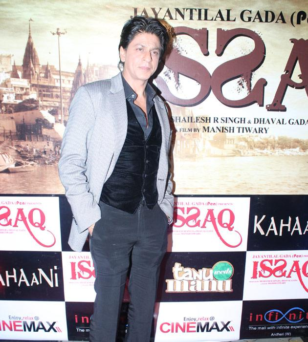 We also spotted SRK at the premiere