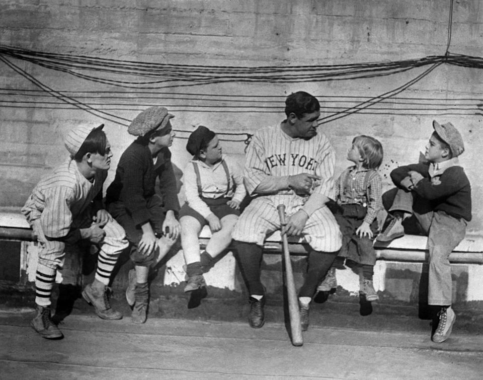 In the 1920s, Babe Ruth wasn't just the most famous baseball player, he was the most well-known person in all of America. (AP)