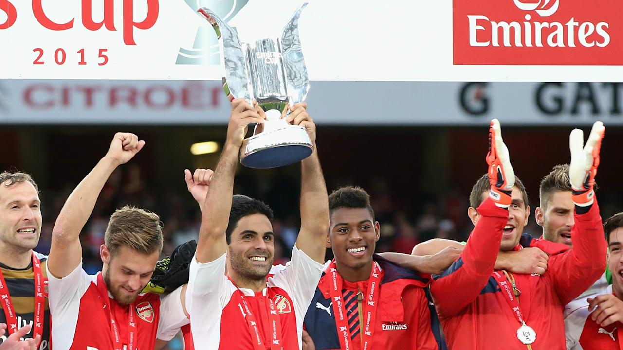 Sevilla, Benfica and RB Leipzig are the clubs visiting north London this weekend for the Gunners' annual pre-season warm-up event