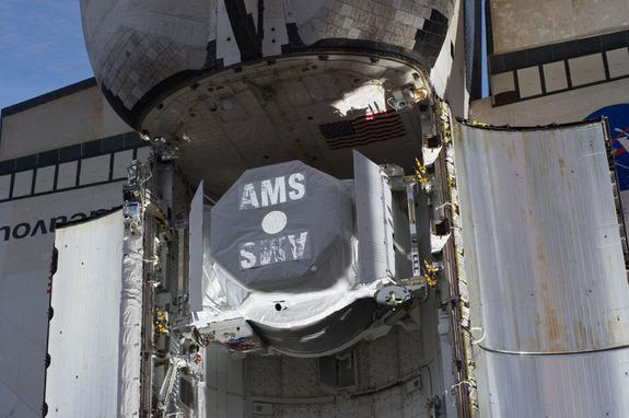 Astronauts Ring In Antimatter-Hunting Space Experiment's 1st Birthday
