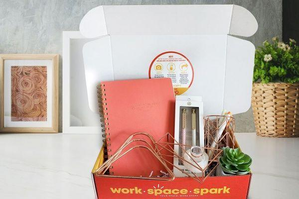"""<p><strong>Work Space Spark </strong></p><p>cratejoy.com</p><p><strong>$47.99</strong></p><p><a href=""""https://go.redirectingat.com?id=74968X1596630&url=https%3A%2F%2Fwww.cratejoy.com%2Fsubscription-box%2Fwork-space-spark%2F&sref=https%3A%2F%2Fwww.goodhousekeeping.com%2Fholidays%2Fgift-ideas%2Fg4349%2Fgifts-for-college-graduates%2F"""" rel=""""nofollow noopener"""" target=""""_blank"""" data-ylk=""""slk:Shop Now"""" class=""""link rapid-noclick-resp"""">Shop Now</a></p><p>Since they're starting from scratch, sign them up for a monthly subscription box that'll send everything they need to take on the work day, from lined notebooks to office decor. </p>"""