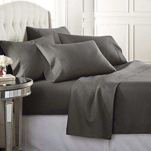"""<p><strong>Danjor Linens</strong></p><p>Amazon</p><p><strong>$27.99</strong></p><p><a href=""""https://www.amazon.com/dp/B079RT87P9?tag=syn-yahoo-20&ascsubtag=%5Bartid%7C10049.g.31275980%5Bsrc%7Cyahoo-us"""" rel=""""nofollow noopener"""" target=""""_blank"""" data-ylk=""""slk:shop now"""" class=""""link rapid-noclick-resp"""">shop now</a></p><p>This set looks and feels <em>way</em> more expensive than the under-$30 price tag would have you believe. But don't take my word for it. Read through the literal thousands of five-star reviews. <br></p>"""