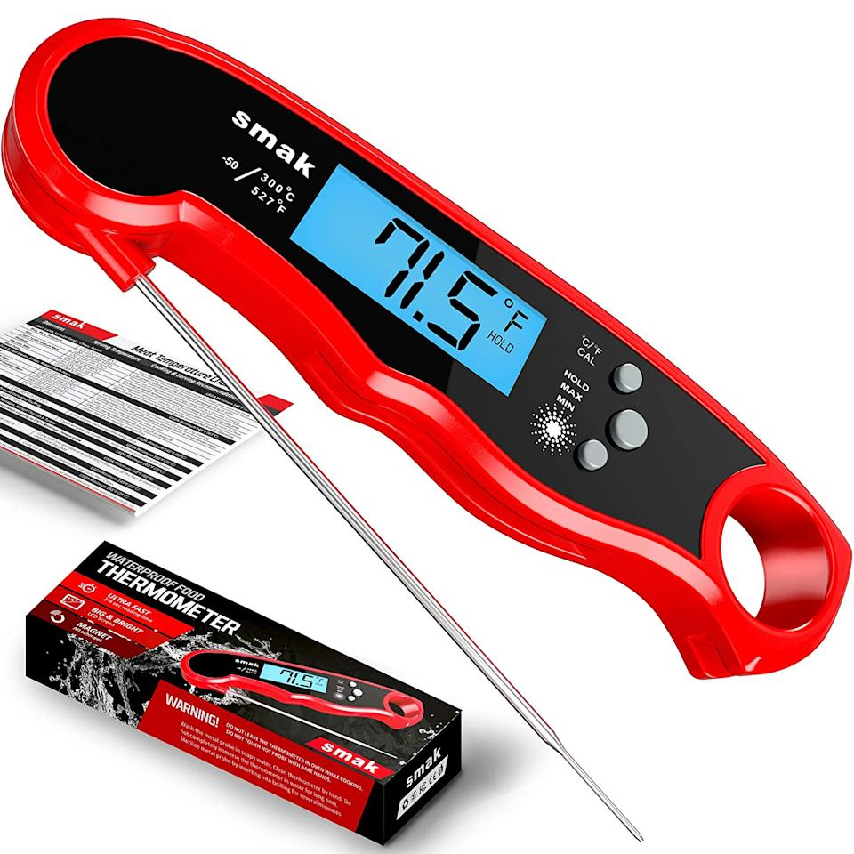 Smak Digital Instant Read Meat Thermometer - Amazon.