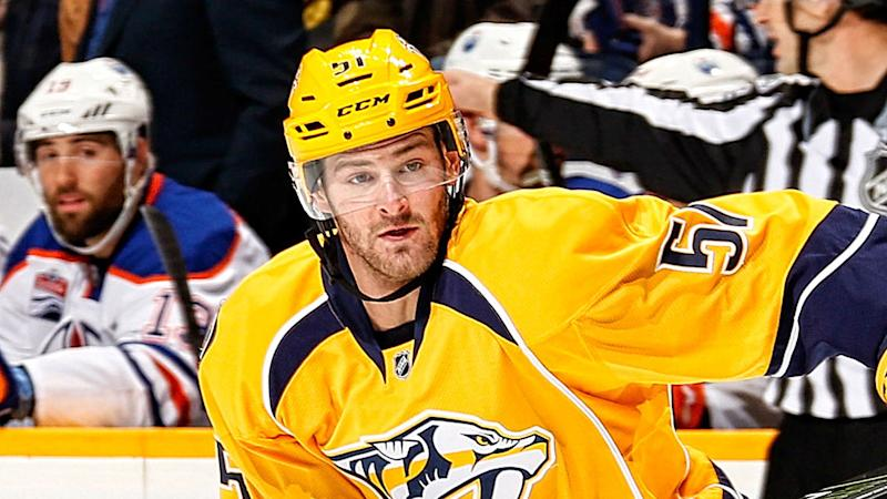 Nashville Predators' Austin Watson suspended for 27 games over domestic violence