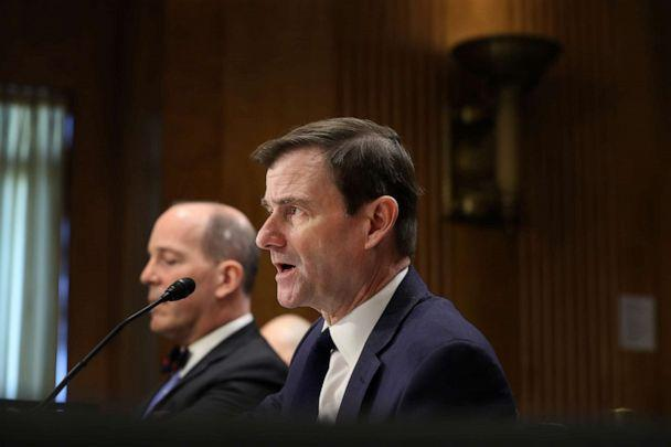 PHOTO: Undersecretary of State for Political Affairs David Hale testifies before the Senate Foreign Relations Committee on Capitol Hill, Dec. 3, 2019, in Washington, DC. (Chip Somodevilla/Getty Images)