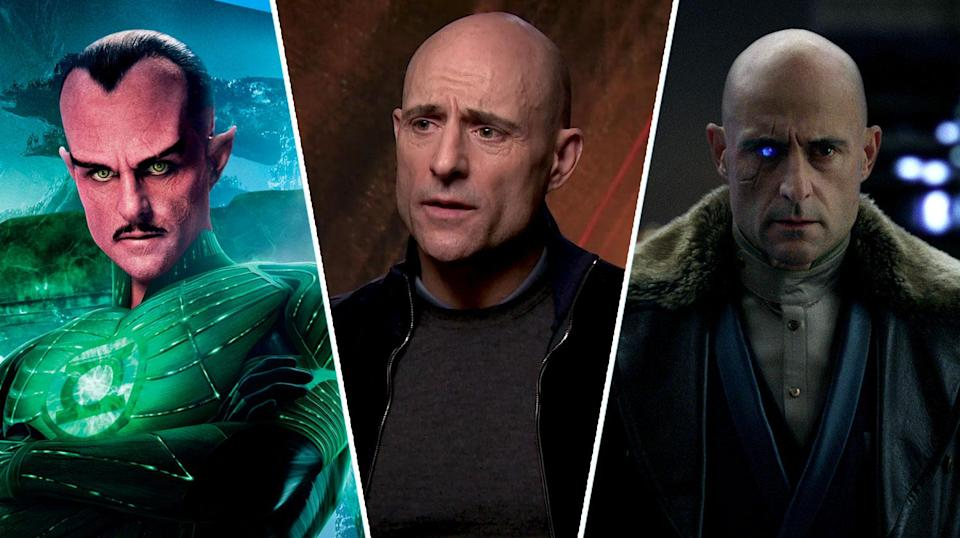 Mark Strong has played two iconic DC villains now in 2011's <i>Green Lantern</i> and 2019's <i>Shazam!</i> (Warner Bros.)