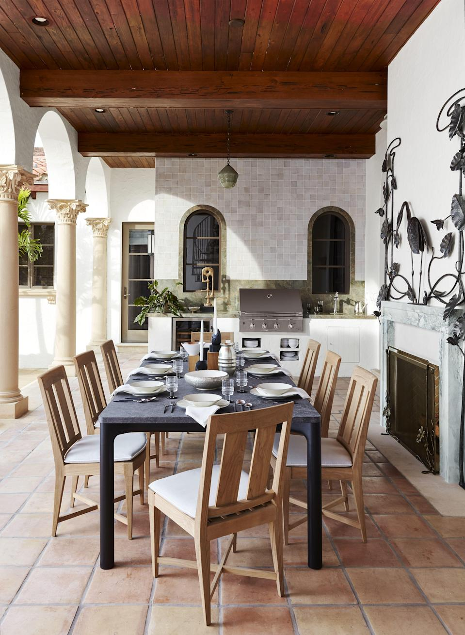 """<p>Enjoying a glass of wine on the patio after a hard day's work shouldn't just be confined to the warmer months. So much of our time is spent indoors lately, so sitting back in the fresh, <a href=""""https://www.veranda.com/outdoor-garden/a34437581/james-farmer-fall-gardening-tips/"""" rel=""""nofollow noopener"""" target=""""_blank"""" data-ylk=""""slk:cool air of your backyard garden"""" class=""""link rapid-noclick-resp"""">cool air of your backyard garden</a> is a welcome respite. As long as you have a warming patio heater.</p><p>There are two types of outdoor patio heaters: electric and propane. Electric heaters need an outlet and use infrared technology that mimics the the sun. These produce the same kind of wavelengths emitted by our own bodies and even wood fires. They are low maintenance; all you have to do is plug them in and leave them alone, and, most of the time, they are portable enough to follow you around the patio. </p><p>Propane heaters typically emit more heat, but do come with more maintenance. Stand-alone propane heaters like the classic mushroom stand may be cheaper and portable, but they require a propane tank. Wall mount versions will need to be plumbed into your main gas line. They also require frequent cleaning, especially at the end of the winter months, to remove carbon buildup and debris.</p><p>The first step in finding the right heater is to decide how much time you want to wait and how much money you want to invest. Sometimes picking up the local option at the hardware store will be the best kind of instant gratification, and they can easily be replaced next season. (In many places around the country, the demand for heaters has surpassed the supply this year.) Often times the cheaper versions are made in the same factory as more expensive ones, so the quality change is not drastic. Whether you are looking for a more long-term patio investment or a quick fix, we've gathered some of the most highly rated on the market. </p>"""