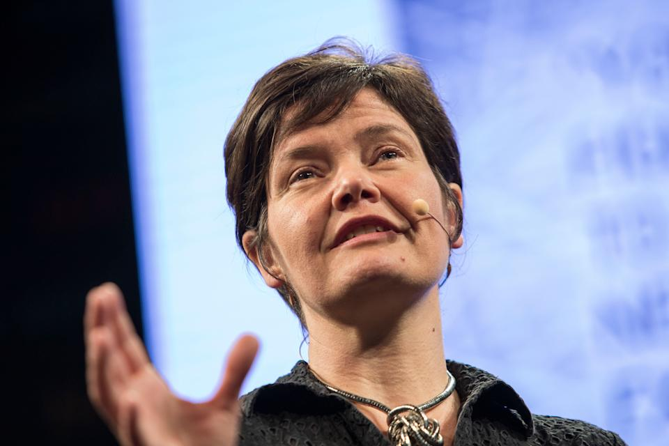 """Kate Raworth, economist and author of the best-selling book """"Doughnut Economics,"""" pictured in 2017. Credit: David Levenson/Getty Images (Photo: )"""