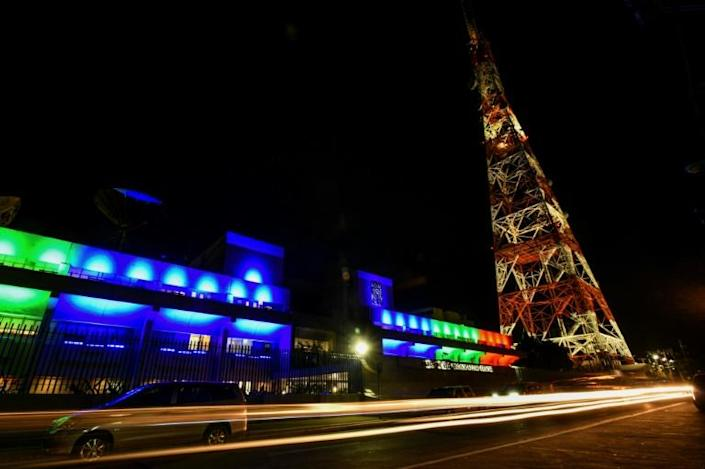 The 25-year licence of ABS-CBN, whose network headquarters is seen in Manila's Quezon City, expired on May 4, 2020 but officials had previously given assurances the radio, TV and internet goliath would be allowed to operate provisionally (AFP Photo/Maria TAN)