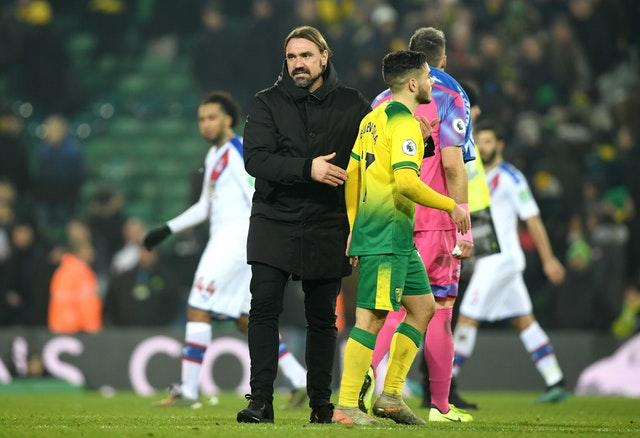 Daniel Farke's side were pegged back late on