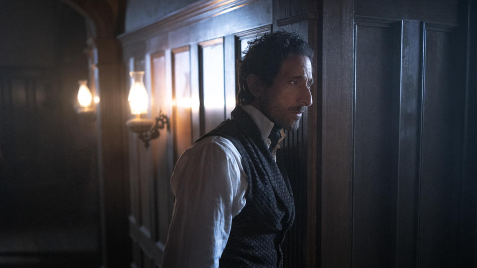 Captain Charles Boone (Adrien Brody) is about to have himself a very spooky day. Picture: Stan