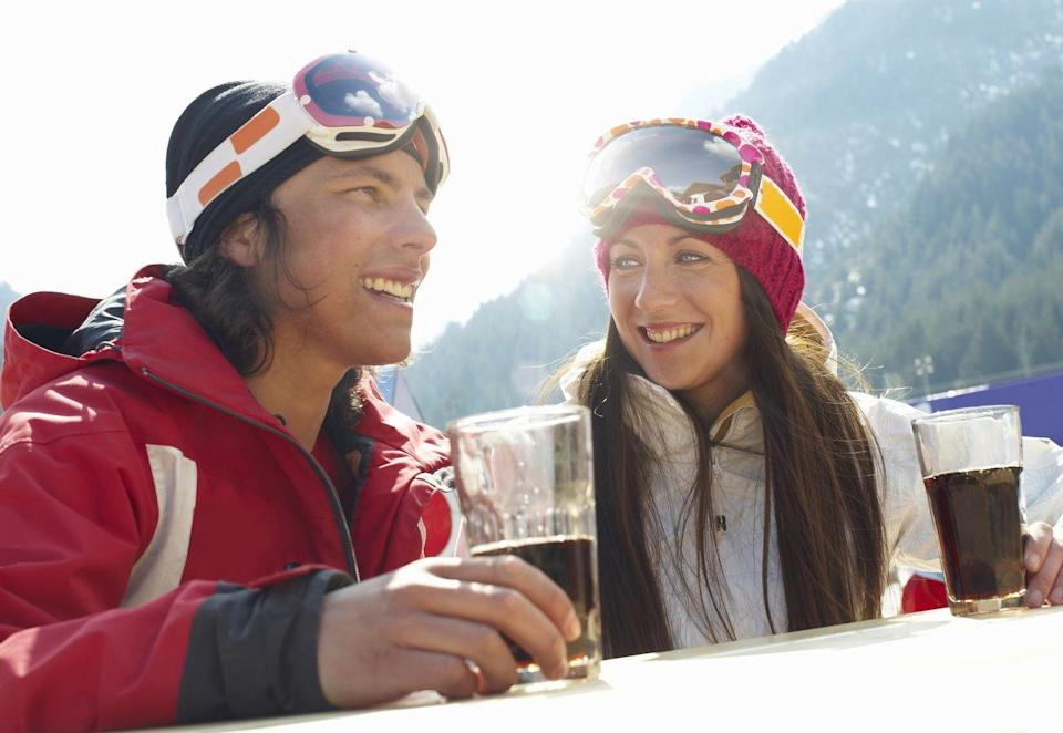 <p>Wyoming law states that drinking should be reserved for <em>après-ski</em>. Skiing under the influence of alcohol is actually illegal in the state.</p>