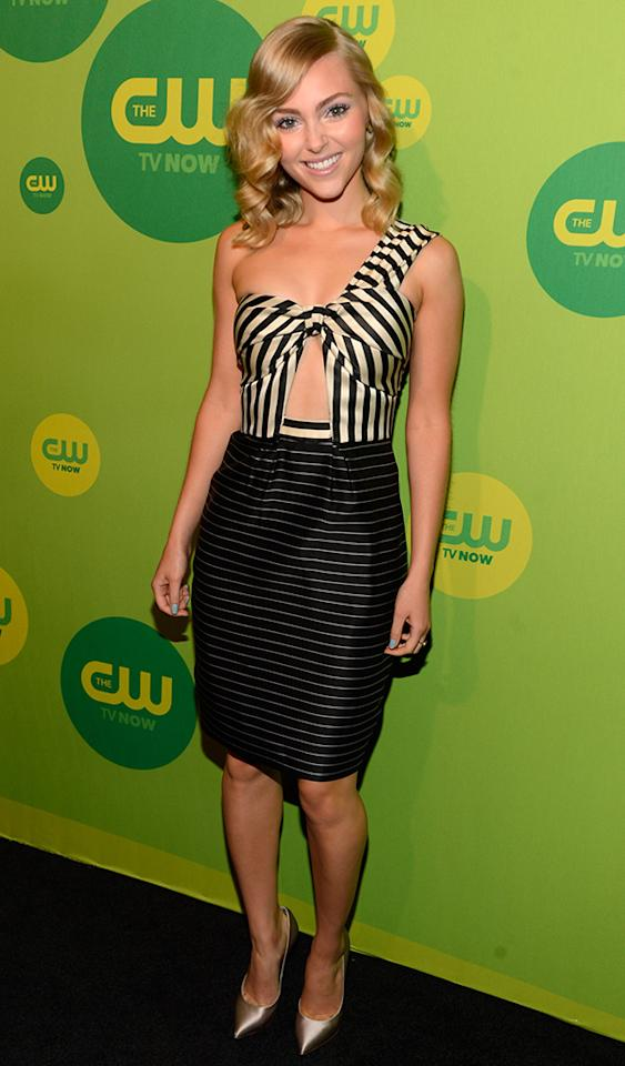 NEW YORK, NY - MAY 16:  AnnaSophia Robb attends the CW Network's 2013 Upfront at The London Hotel on May 16, 2013 in New York City.  (Photo by Kevin Mazur/WireImage)