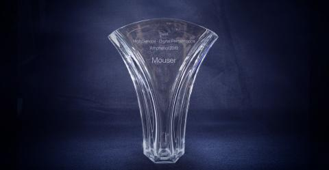 Mouser Electronics Receives Best Digital Performance Award From Amphenol Corporation