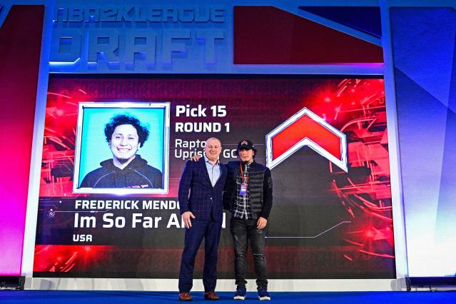 Frederick Mendoza gets drafted by Raptors Uprising GC