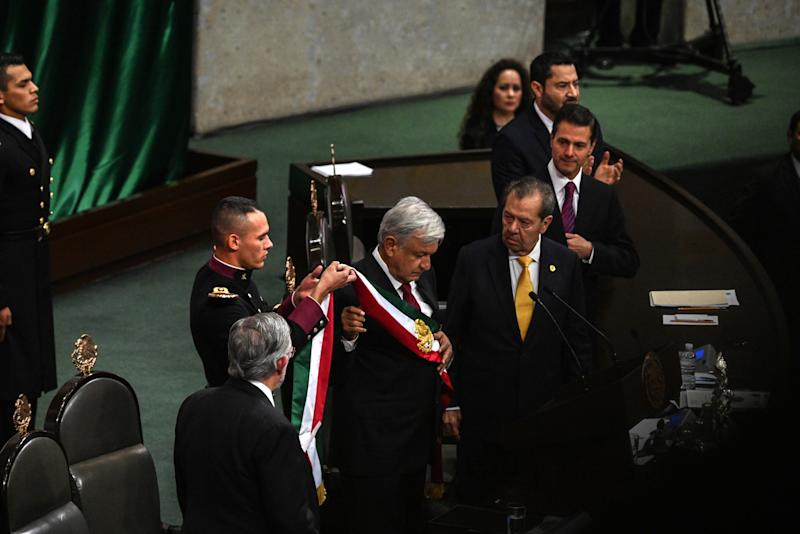 Mexico's AMLO Takes Office With Attack on Energy Overhaul