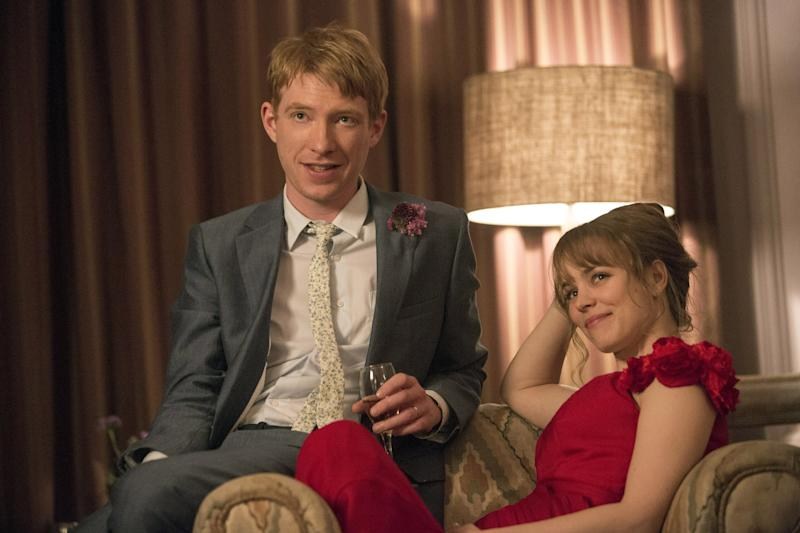 ABOUT TIME, from left: Domhnall Gleeson, Rachel McAdams, 2013. ph: Murray Close/Universal/courtesy Everett Collection