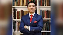 PHOTO: Yale graduate student Kevin Jiang is pictured in an undated photo released by the school after he was killed on Feb. 6, 2021. (Yale University)