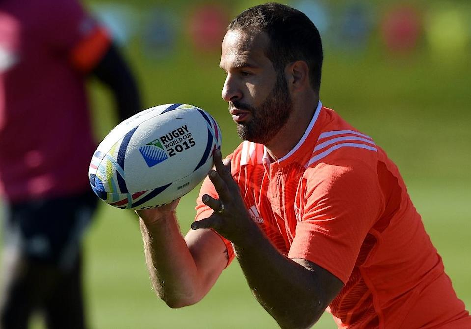 France's Frederic Michalak announced his retirement from international rugby (AFP Photo/Franck Fife)