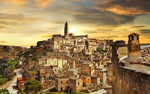 <span>The World Heritage Site of Matera</span>