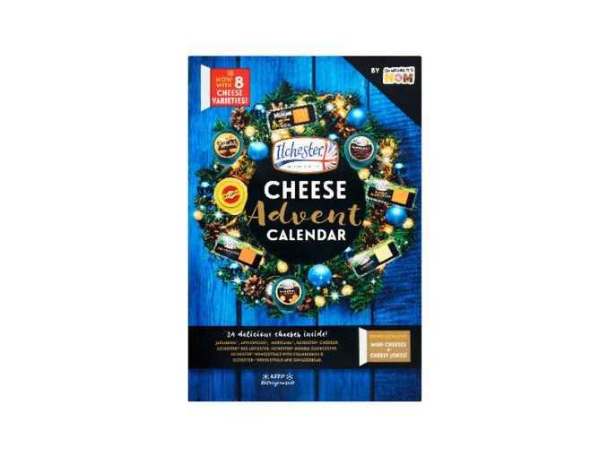 Ilchester British Cheese Advent Calendar, £7.99. [Photo: Lidl]