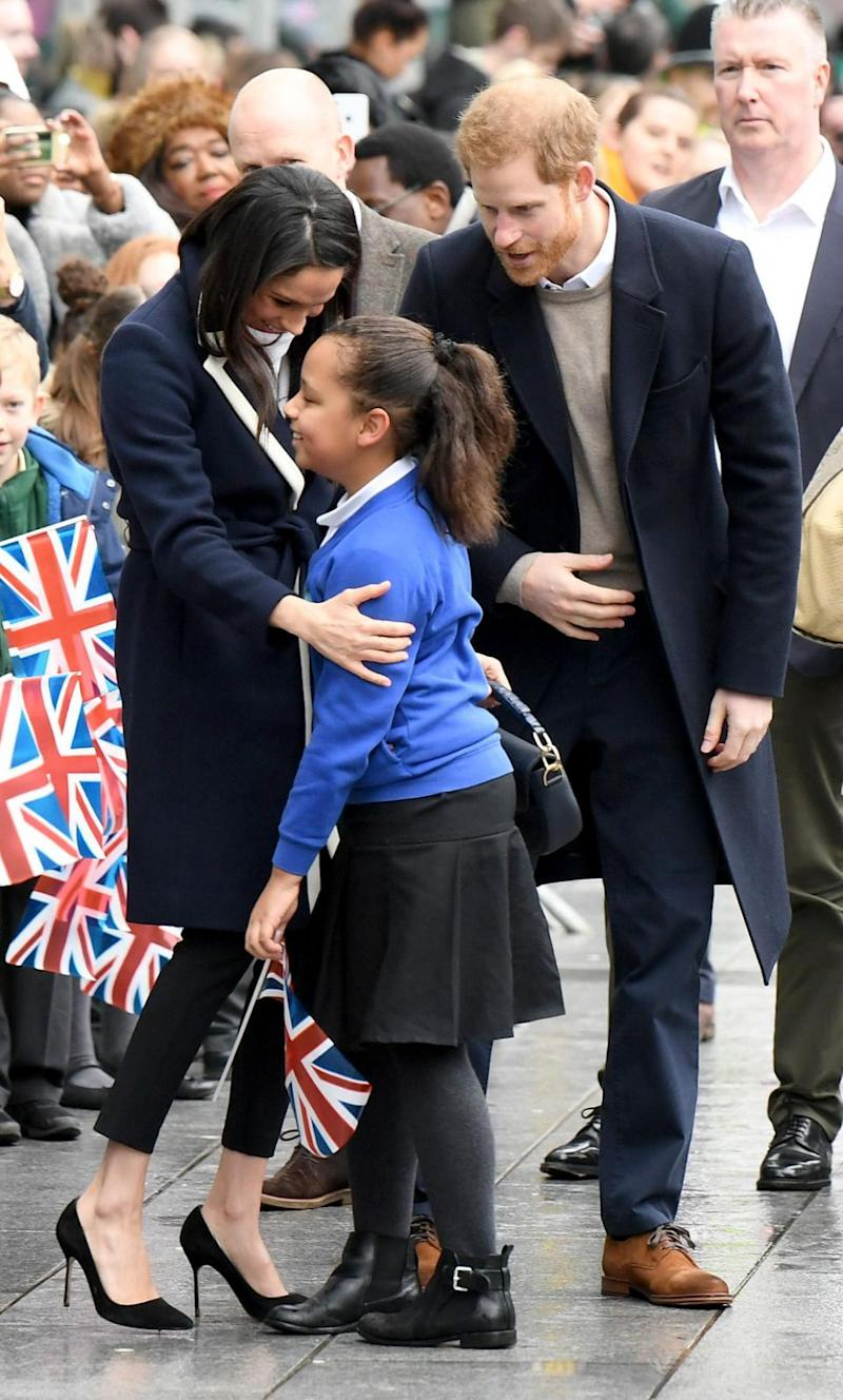 10-year-old Sophia couldn't believe her luck. Photo: Getty Images