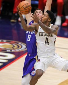 In the absence of Jrue Holiday, Elfrid Payton has stepped up with four consecutive triple-doubles.