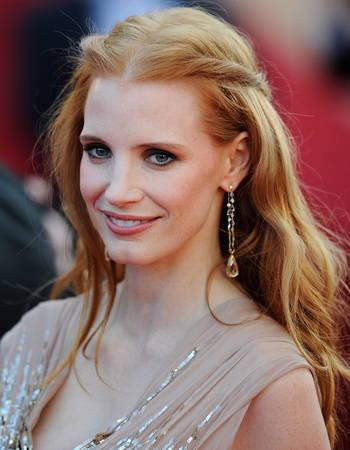 Jessica Chastain vows never to date an actor