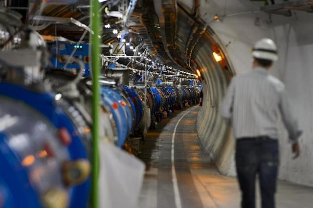 CERN's Large Hadron Collider (AFP Photo/Fabrice Coffrini)