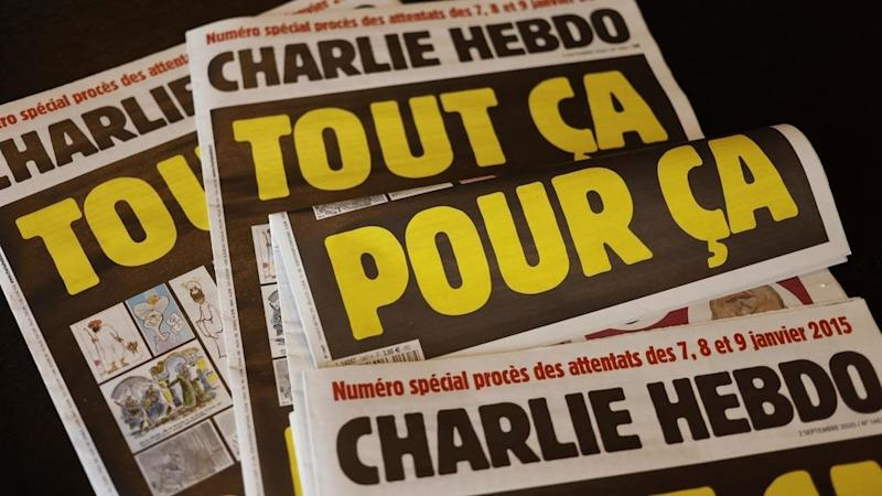 French media sign open letter to support Charlie Hebdo after new death threats