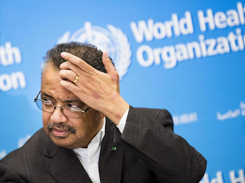 "Tedros Adhanom Ghebreyesus, Director General of the World Health Organisation (WHO) declared the outbreak of the new deadly virus which originated from China a ""global health emergency"": AP"
