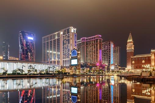 Ctai strip Macau Galaxy earnings dividends
