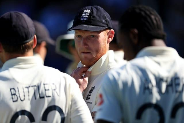 Stokes (centre) will get some captaincy experience in this week's squad match (Mike Egerton/PA)