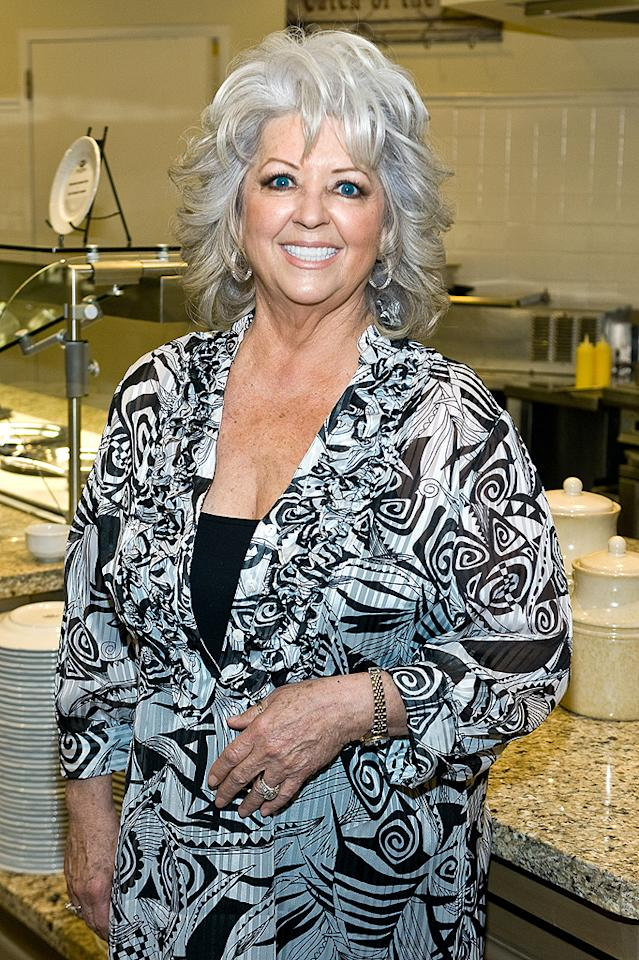 "Since then, the silver-haired Savannah resident, restaurateur, and cookbook queen has built an impressive empire reflecting her down-home cooking style. In January, Deen created a stir when she announced that she had type-2 diabetes and was becoming a pitchwoman for a diabetes drug. Still, she vowed the disease wasn't going to keep her from eating the way she wants. ""I was determined to share my positive approach and not let diabetes stand in the way of enjoying my life,"" she said."
