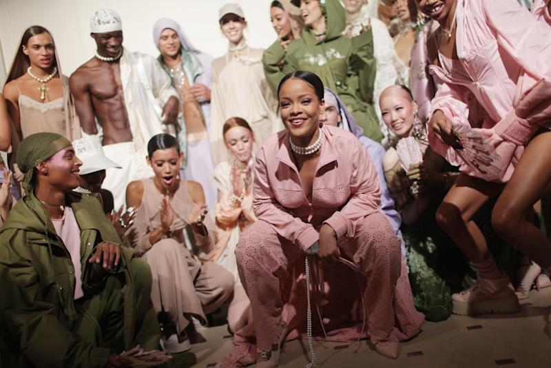 The Front Row at Rihanna's Fenty x Puma Show Featured a