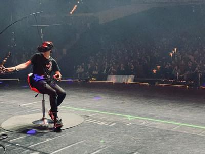 © Cybershoes GmbH: Opening up the grand possibilities of VR-Tournaments on stage for everyone