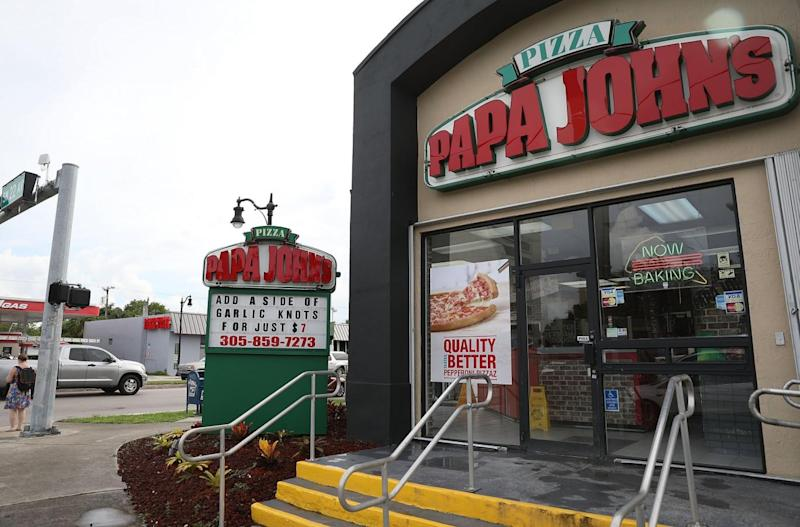 Papa John's: founder John Schnatter apologized Wednesday for using the N-word on a conference call in May (Getty Images)
