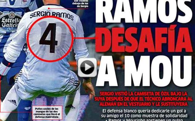 Why wear one sweaty shirt when you could wear two? (Marca)