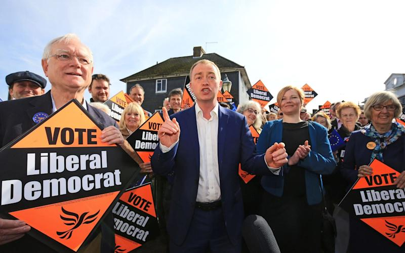 Tim Farron, the Liberal Democrat leader - Credit: Gareth Fuller/PA