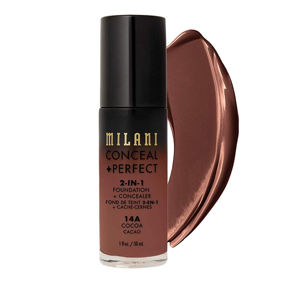 Milani Conceal + Perfect 2-in-1 Foundation + Concealer - Cocoa