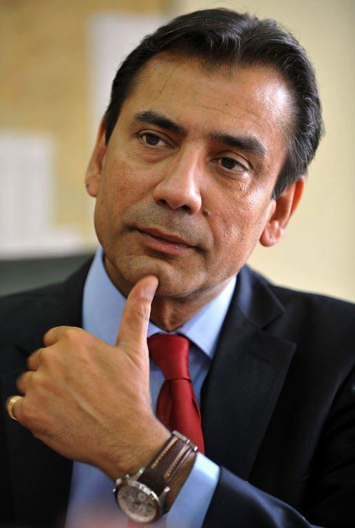 President and CEO of Himalaya Drug Company, Philipe Haydon, pictured during an interview in Bangalore, on February 8, 2013. The group is an Indian healthcare success story, combining ancient traditional medicine known as Ayurveda with cutting-edge technology