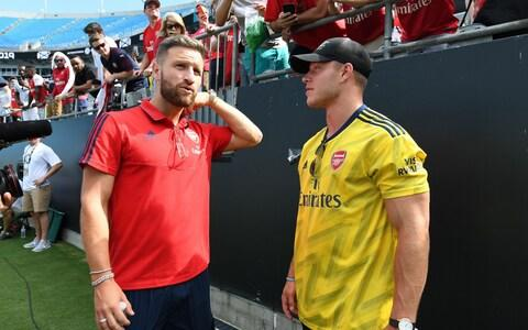 <span>Mustafi might be best served leaving the club and starting afresh elsewhere</span> <span>Credit: Arsenal FC </span>