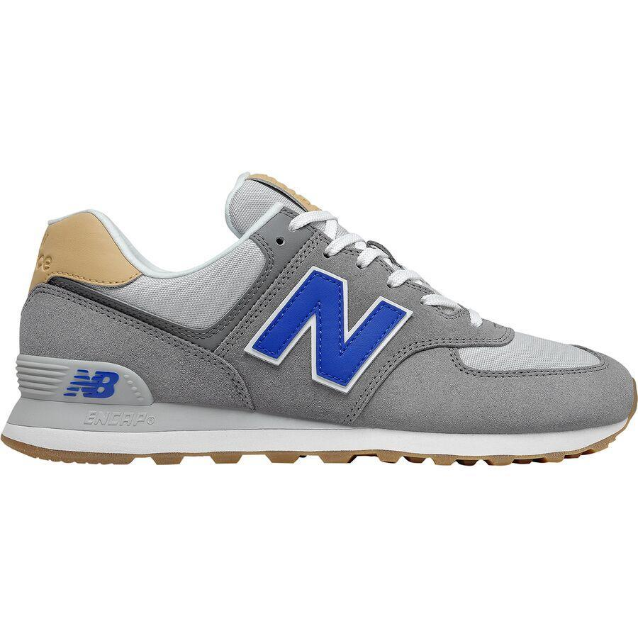 """<h2>New Balance 574 Tencel Shoe</h2><br><strong>Under $100</strong><br>Your dad has actually owned a version or two of these classic gray New Balances for your entire life. Get him a new pair of these tried & true tennis shoes on June 20.<br><br><em>Shop New Balance at <strong><a href=""""https://www.backcountry.com/new-balance"""" rel=""""nofollow noopener"""" target=""""_blank"""" data-ylk=""""slk:Backcountry"""" class=""""link rapid-noclick-resp"""">Backcountry</a></strong></em><br><br><strong>Backcountry</strong> 574 Tencel Shoe, $, available at <a href=""""https://go.skimresources.com/?id=30283X879131&url=https%3A%2F%2Fwww.backcountry.com%2Fnew-balance-574-tencel-shoe-mens"""" rel=""""nofollow noopener"""" target=""""_blank"""" data-ylk=""""slk:Backcountry"""" class=""""link rapid-noclick-resp"""">Backcountry</a>"""